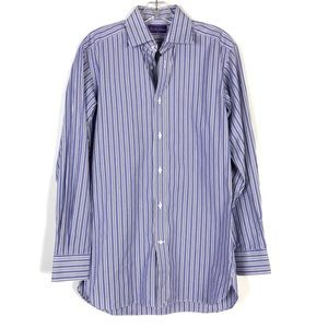 Ralph Lauren Purple Label Striped Button Down